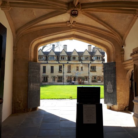 Brasenose from the entrance | WMC