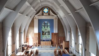 Westminster College Chapel Interior
