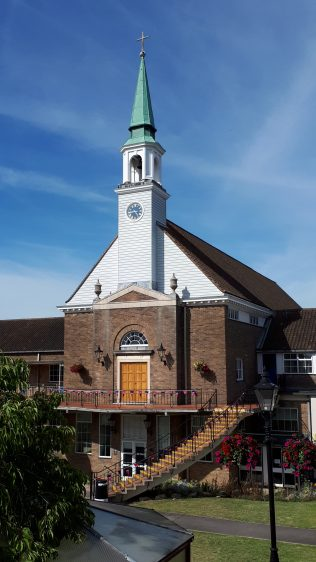 Westminster College Chapel exterior | AMB