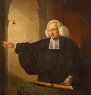 Portrait of George Whitefield by David Martin, curtesy of John Wesley's Chapel Museum of Methodism