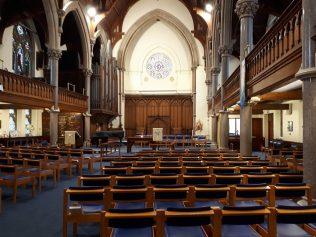 Wesley Memorial Church interior