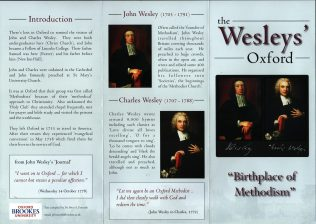 The Wesleys' Oxford Leaflet