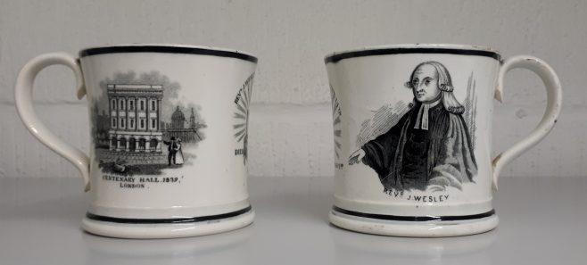 Centenary Mugs   Lincoln College, Oxford