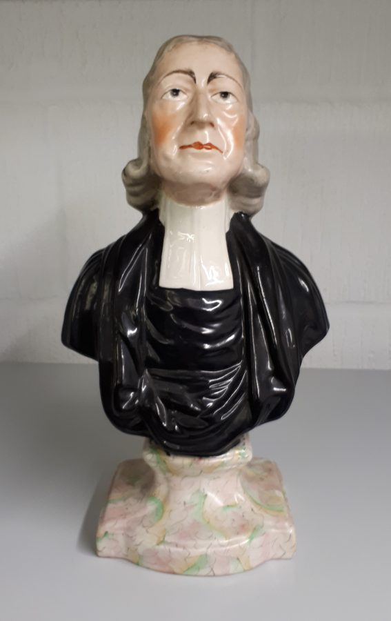 Bust of John Wesley (3) | Lincoln College, Oxford
