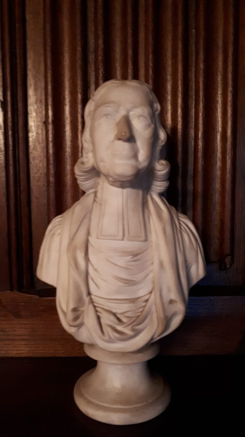 Bust of John Wesley (1)   Lincoln College, Oxford