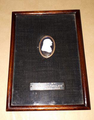 Miniature cameo   Lincoln College, Oxford