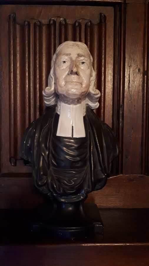 Bust of John Wesley (2) | Lincoln College, Oxford