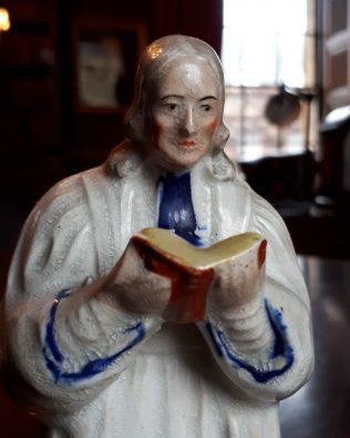 John Wesley statuette | Lincoln College, Oxford