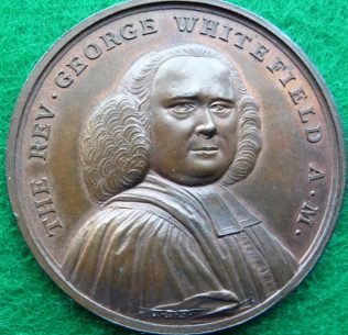 George Whitefield commemorative coin | GKirby