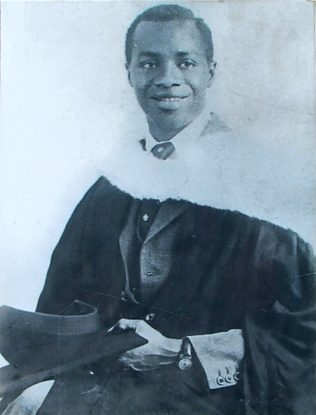 Kofi Busia Graduation  | Busia Family