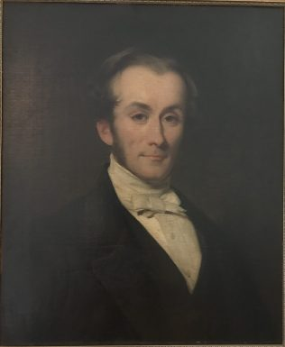 Portrait of George Maunder by William Gush