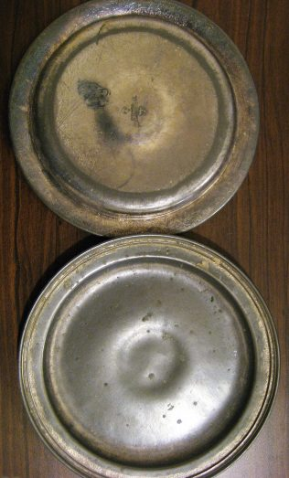 Pewter plates | GKirby