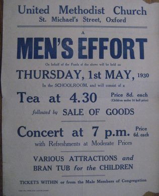 Fundraising advert from 1930   GKirby